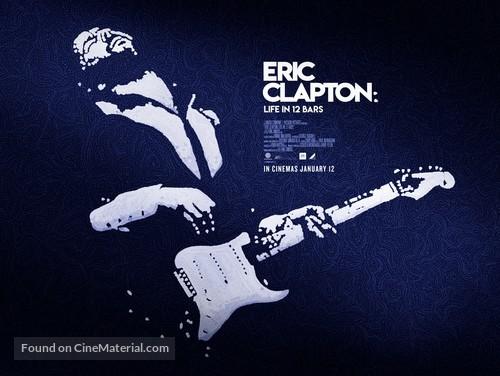 Eric Clapton: Life in 12 Bars - British Movie Poster