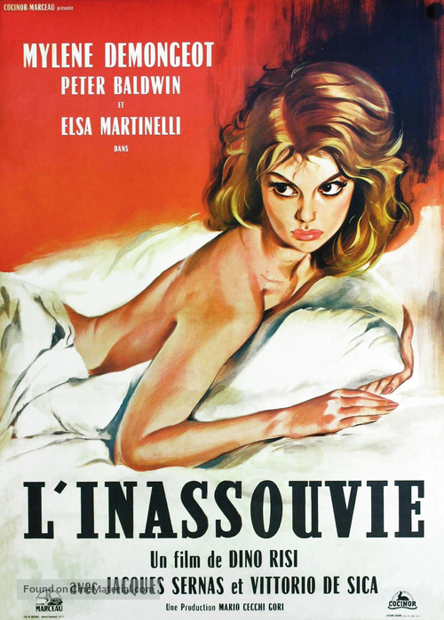 Amore a Roma, Un - French Theatrical movie poster