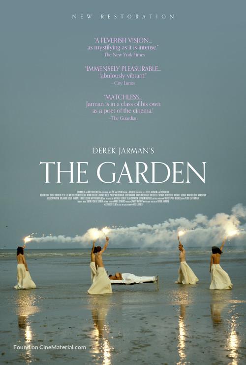 The Garden - British Re-release movie poster