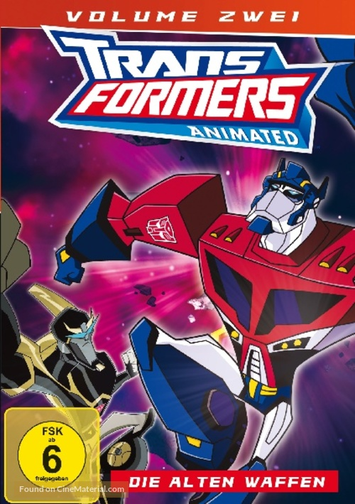 """Transformers: Animated"" - German Movie Cover"