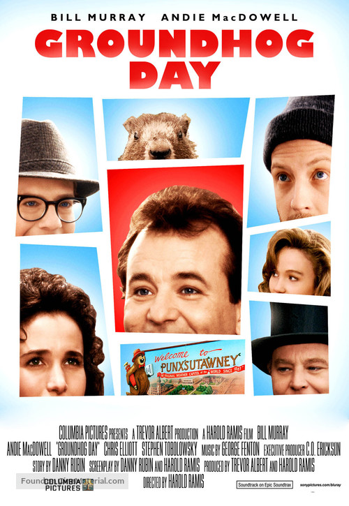 Groundhog Day - Video release movie poster