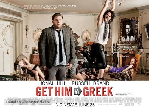 Get Him to the Greek - British Movie Poster