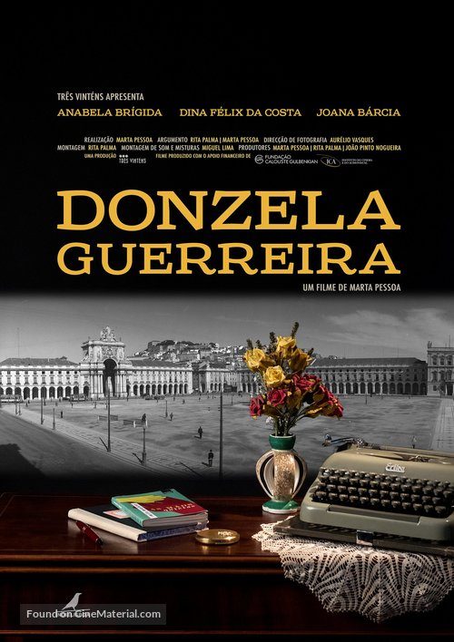 Donzela Guerreira - Portuguese Movie Poster