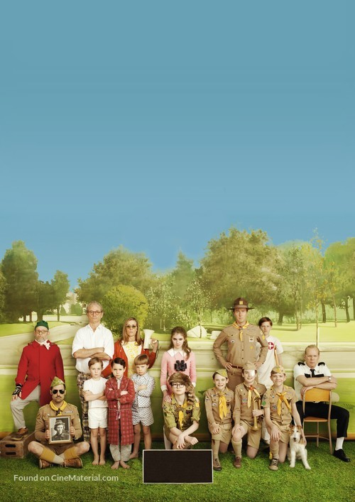 Moonrise Kingdom - Key art