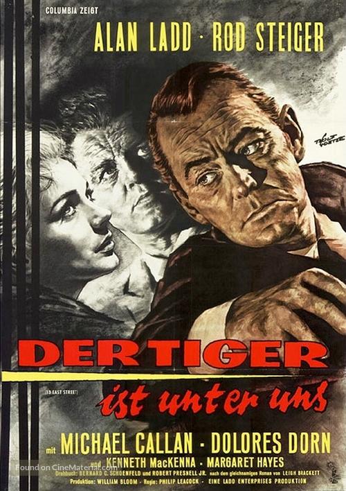 13 West Street - German Movie Poster