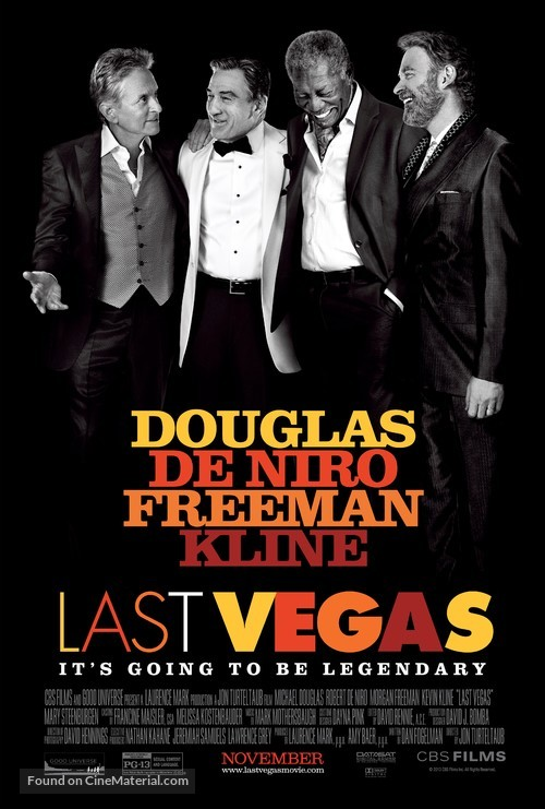 Last Vegas - Movie Poster