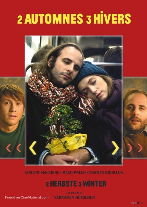 2 automnes 3 hivers - German Movie Poster