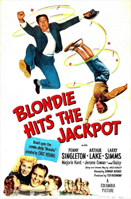 Blondie Hits the Jackpot - Movie Poster