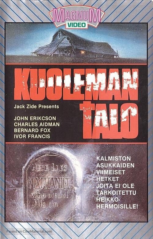 Alien Zone - Finnish VHS movie cover