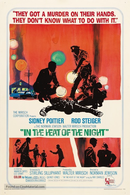 In the Heat of the Night - Movie Poster
