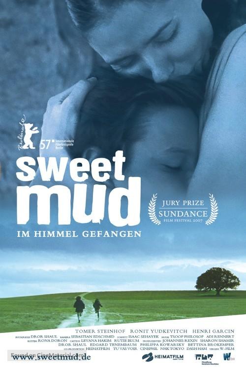 Adama Meshuga'at - German Movie Poster