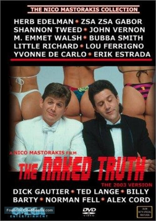 The Naked Truth - DVD movie cover