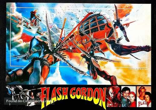 flash gordon movie poster