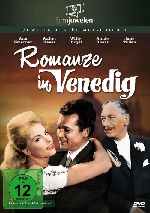 Romanze in Venedig - German Movie Cover