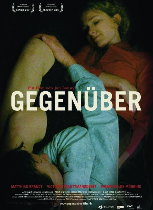 Gegenüber - German Movie Poster