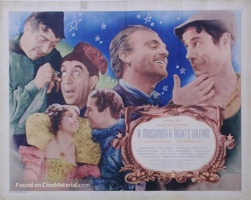 A Midsummer Night's Dream - Movie Poster