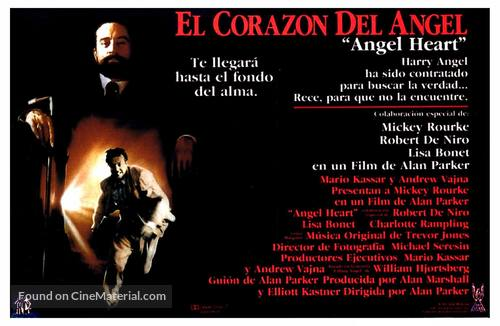 Angel Heart - Spanish Movie Poster