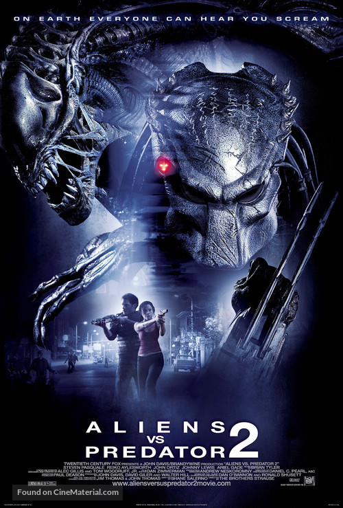 AVPR: Aliens vs Predator - Requiem - Movie Poster