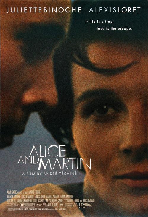 Alice et Martin - Canadian Movie Poster