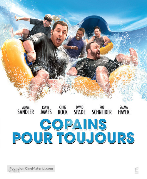 Grown Ups 2010 French Movie Poster