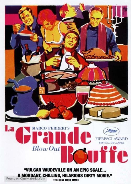 La grande bouffe - British Movie Poster
