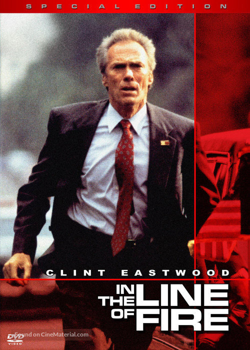 In The Line Of Fire - DVD movie cover