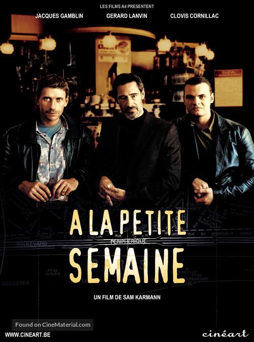 À la petite semaine - Belgian Movie Poster