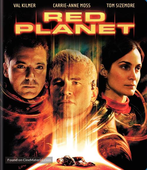 Red Planet - Blu-Ray cover