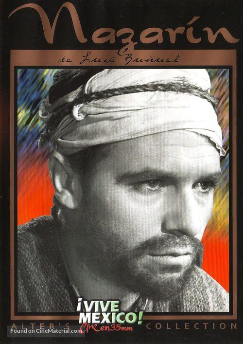Nazarín - Mexican DVD movie cover
