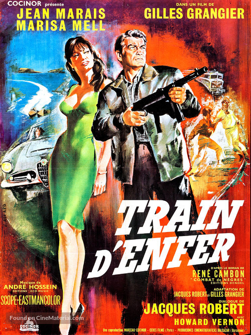 Train d'enfer - French Movie Poster