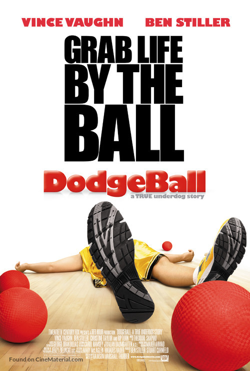Dodgeball: A True Underdog Story - Theatrical movie poster