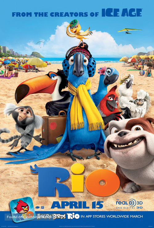 Rio - Movie Poster
