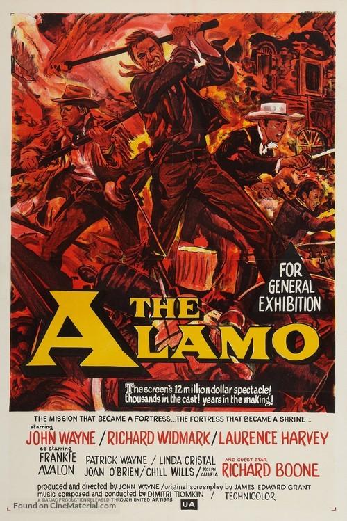 The Alamo - Australian Movie Poster