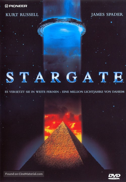 Stargate - German DVD movie cover