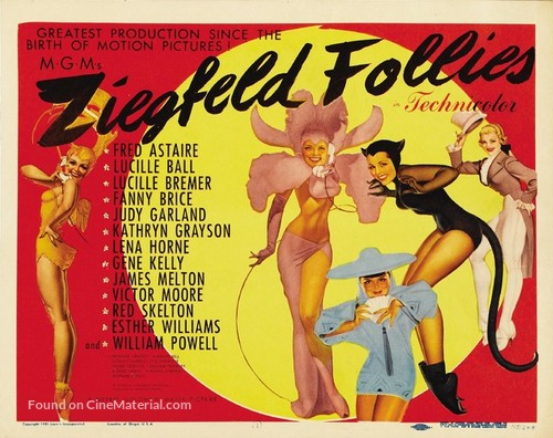 Ziegfeld Follies - Movie Poster
