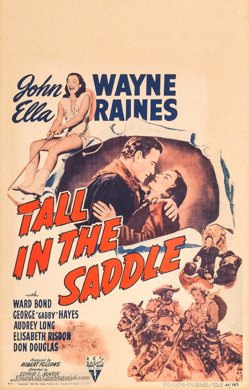 Tall in the Saddle - Movie Poster
