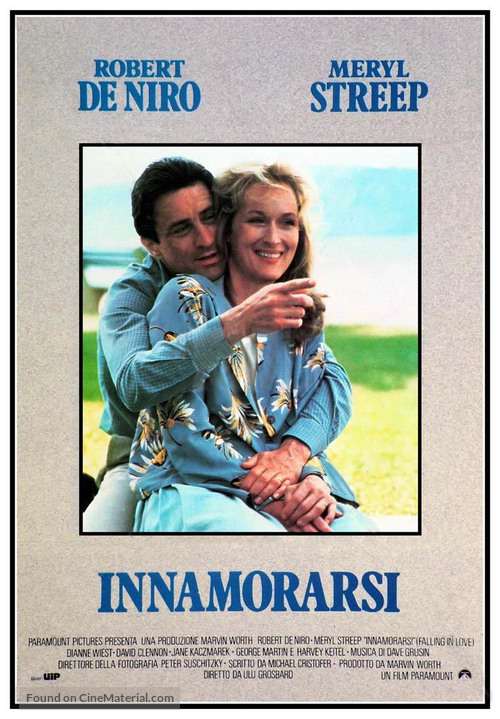 Falling in Love - Italian Movie Poster