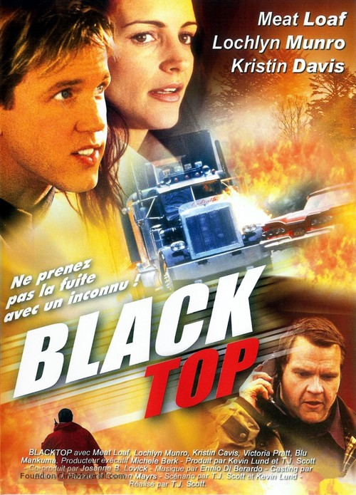 Blacktop - French Movie Cover