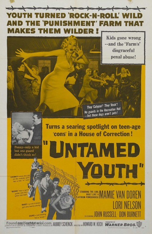 Untamed Youth - Movie Poster