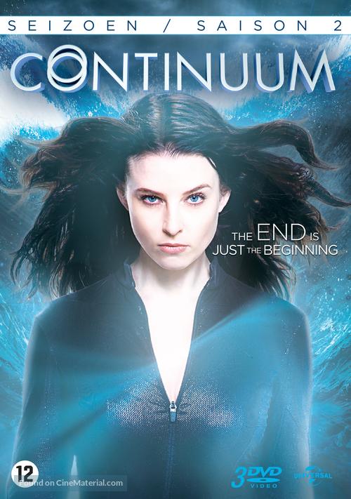 """Continuum"" - Dutch DVD cover"