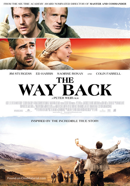 The Way Back - Swiss Movie Poster