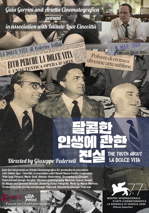 La Verità Su La Dolce Vita - South Korean Movie Poster