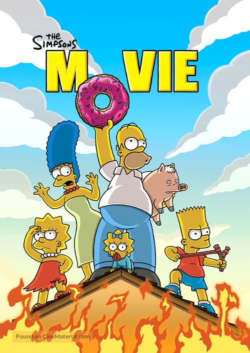 The Simpsons Movie - Movie Poster