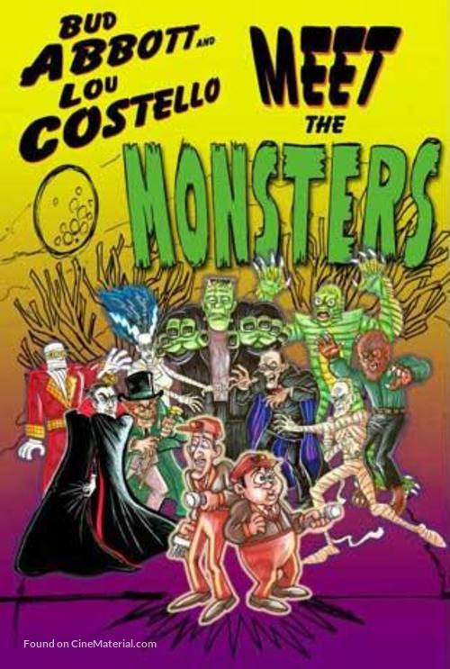 Abbott and Costello Meet the Monsters - Movie Cover
