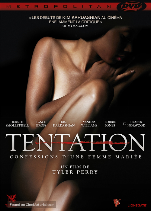Temptation: Confessions of a Marriage Counselor - French DVD movie cover