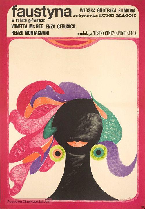 Faustina - Polish Movie Poster