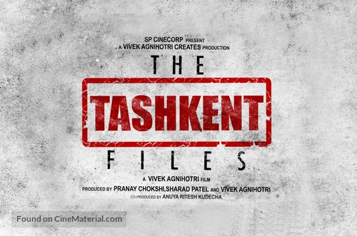 The Tashkent Files - Indian Logo