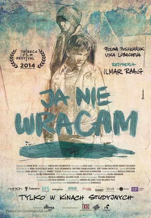 Ya ne vernus - Polish Movie Poster