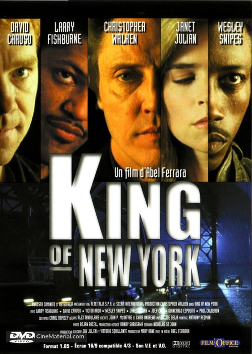 King of New York - French DVD movie cover