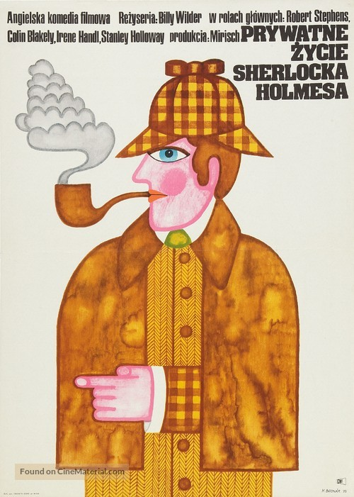 The Private Life of Sherlock Holmes - Polish Movie Poster